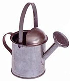 Package of 12 Mini Galvanized Tin Metal Watering Cans - Make Cute Shower Favors!