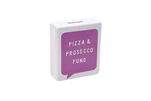 My Thoughts Exactly My Thoughts Exctly 'Pizza & Prosecco' Spardose | aus der CGB Giftware's Reihe | Spardose | Pennies | Spardose | Geschenk | GB03992