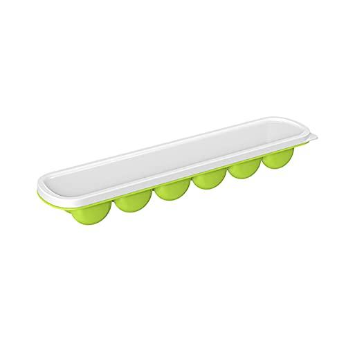 illuMMW Bandeja de cubitos de hielo de fácil liberación, 12 cubiteras flexibles con tapa extraíble a prueba de fugas para Cocktail Kitchen Supply