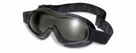 Global Vision Spider Goggle Motorcycle Eyewear with Clear & Smoke Lens KIT