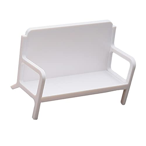PPuujia Sólido memo hogar sofá en forma de ahorro de espacio titular de la tarjeta de visita portátil escritorio almacenamiento estante exhibición soporte suave suministros de oficina