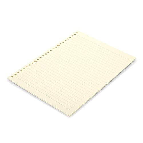 Cuaderno Papel en Blanco Dispersos portátiles Papel Relabelos de Papel Tiene Cuadrados y líneas horizontales para Dos Estilos para Elegir (60 Hojas) Diario (Color : Horizontal Lines, Size : A5)