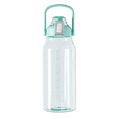 Nealpar Jarra de Agua de 1500 Ml/Botella de Gimnasia: Ideal Sin BPA para Gimnasia, Dieta, Culturismo, Deportes al Aire Libre, Senderismo y Oficina,C