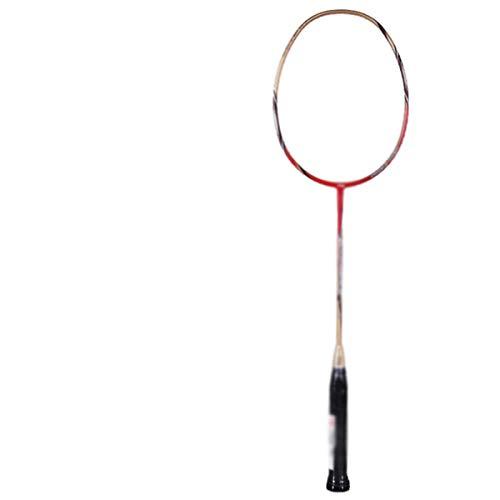 Raquette De Badminton De Haute Qualité Professionnel Single Shot Double Shot Full Carbon Attack Pour Adultes En Fibre De Carbone Ultra Léger Hommes Et Femmes Compétition De Badminton Raquette