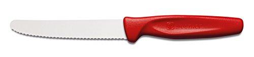 Wüsthof TR3003R Colors Couteau Universel avec Lame Dentelée/Manche Rouge 10 cm