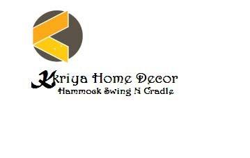 Kkriya Home Decor Jute Swing for Kids (White)