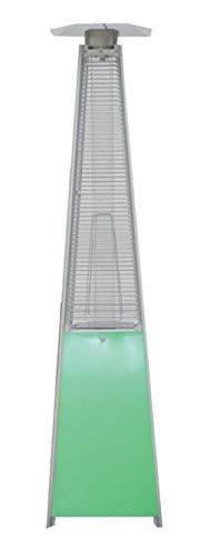 Estufa de Terraza Pirámide BUTSIR en acero inoxidable y módulo Led 227 cm 13 kW Varios colores