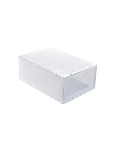 YIGUI Caja De Zapatos Caja De Zapatos Transparente Plegable Apilable Caja De...
