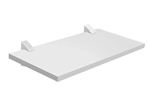 Prat-K Concept Prateleira Reta, Branco, 1.5 X 25 X 40cm