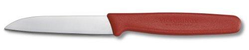 Victorinox 5.0401 - Coltello per verdure in nylon, colore: Rosso, Nylon Plastica, 2 - confezione