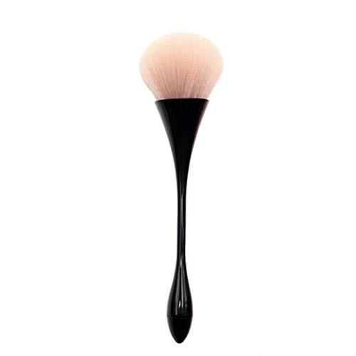ADDYZ Gran rosa oro polvo rubor cepillo cosmético cepillo conjunto contorno facial sombra de ojos labios cepillo belleza maquillaje herramienta