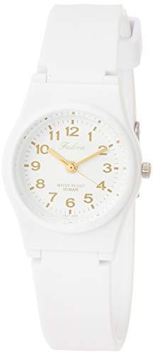 [シチズン Q&Q] 腕時計 アナログ 防水 ウレタンベルト VS21-002 レディース ホワイト ゴールド