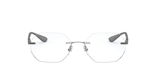 Ray-Ban 0rx8765 Gafas, GUNMETAL, 53 Unisex