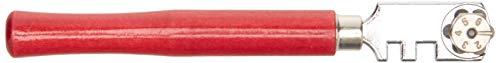 Silverline CT30 - Cortavidrio de 6 ruedas (125 mm