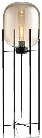 YMLSD Lámparas de Piso, Luz de Pie Lámparas Verticales Luces Iluminación de Decoración Moderna para el Hogar Lámparas de Piso Nórdicas Lámparas de Pie de Sala de Estar Led Iluminación de Vidrio Lámpa
