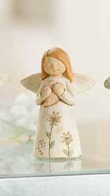 GILDE Handwerk Schutzengel Mutmacher Polly Creme Keramik 37027 1 Engel Glücksbringer Beschützer Aufpasser Weihnachtsprospekt Winterprospekt 2014