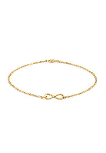 Elli Armband Elli Damen Armband mit Infinity Unendlichkeits Symbol in 925 Sterling Silber
