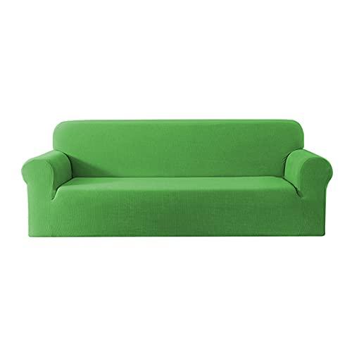 XYXH Funda Cubre Sofa con Reposabrazos 1 Plazas, Funda para Sofá Antideslizante, Cubre Sofa Elastica, Lavable Varilla De Espuma Transpirable Retirable para Sala De Esta