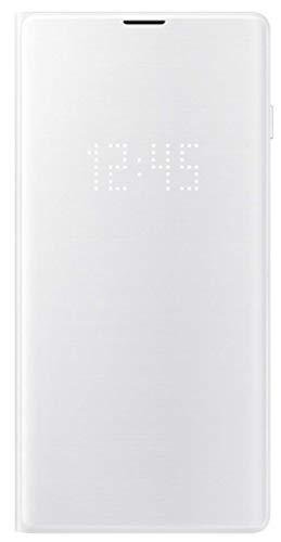 LED View Cover für Galaxy S10 Weiß