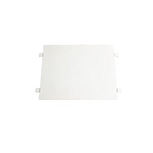 カゴ台車 カゴ車 オプション 棚板 中間棚板 W80×D60×H170(cm)台車用(1枚) (ホワイト)