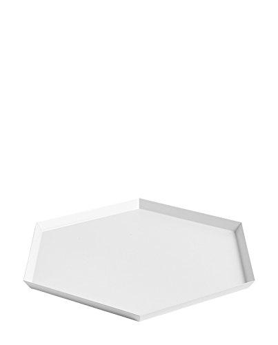 Hay 503962 Tablett, 18/10 Stahl, weiß/pulverbeschichtet