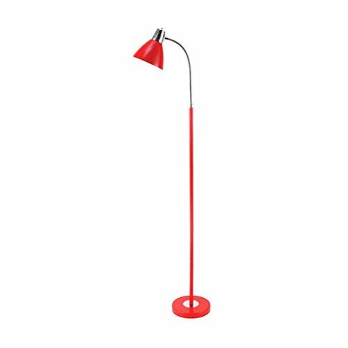 Good thing Lampadaire LED Lampadaire Salon Étude Protection des Yeux Chambre Chambre Lampe de chevet Écriture Simple Lampes de Lecture Verticales (Couleur : B)