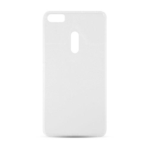 Area Zero - Gummy Handy-Schutzhülle 14 cm (5.5 Zoll) Abdeckung Transparent - Handy-Schutzhüllen (Abdeckung, Huawei, Y6 II Compact, 14 cm (5.5 Zoll), Transparent)