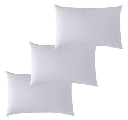 P'tit Basile Kissenbezüge, Bio-Baumwolle, 40 x 60 cm, Perlgrau, 100 % Baumwolle, Ökotex und GOTS zertifiziert