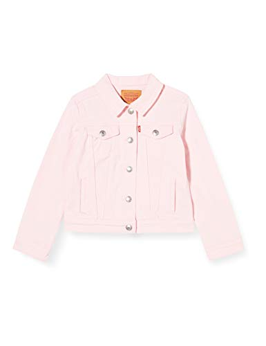 Levi's Kids Baby - Mädchen Jeansweste Lvg Hooded Trucker Jacket Rose Shadow 3 Monate