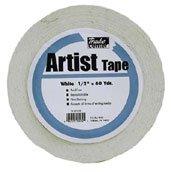 Art Alternatives Economy White Artists Tape - 1 Inch X 60 Yards