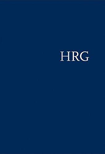Handwörterbuch zur deutschen Rechtsgeschichte (HRG) – gebundene Ausgabe – Band III: Konfliktbewältigung – Nowgorod
