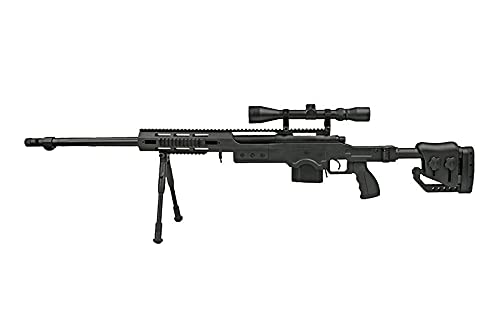 2EAGLE Fusil Airsoft Sniper Well MB4411D/plastique Haute rés
