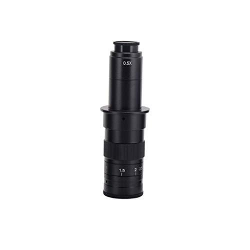 Objetivo tipo C 120X 180X 300X Zoom 0,7X-4,5X Aumento de la industria del microscopio USB, utilizado en la industria de la joyería, industria del reloj., color 180