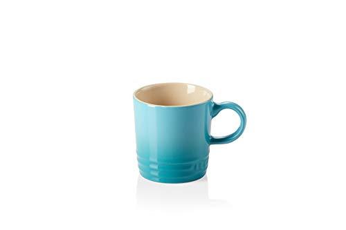 Le Creuset Tazas de expreso, 100 ml, Cerámica de gres, Azul Caribe