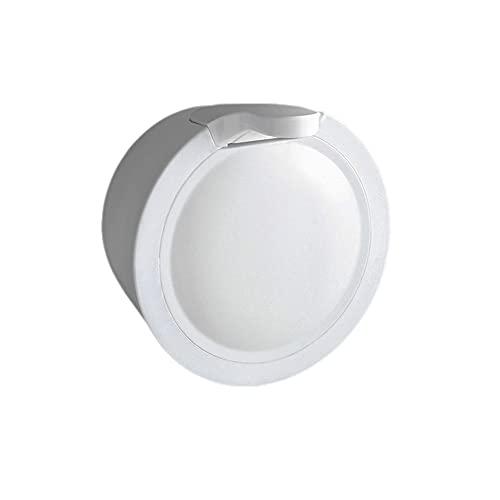 Dispensadores de loción y de jabó Dispensador de jabón redondo Capacidad de gran capacidad Botella de bombeo Loción recargable Dispensador puede sostener jabón de jabón de jabón de mano jabón de jabón