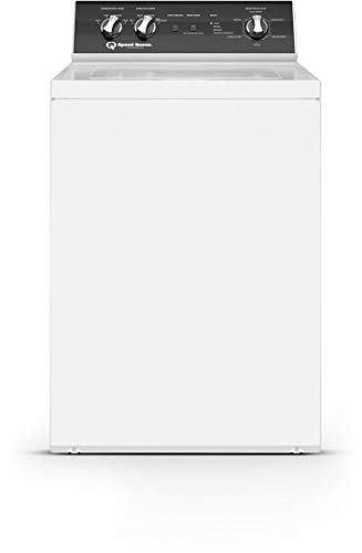 """Speed Queen TR5003WN 26"""" Top Load Washer with 3.2 cu. ft. Capacity, 840 RPM Max Spin Speed, Knob Control, Stainless Steel Tub, in White"""