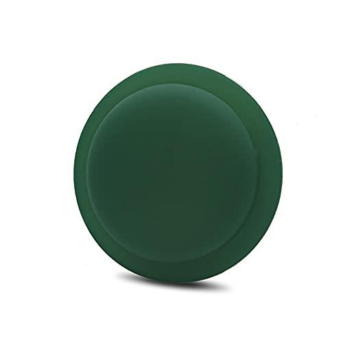 CoverKingz Funda de silicona para Apple AirTags 2021 adhesivo – Carcasa autoadhesiva – Soporte adhesivo – Pegatina Airtag – Soporte de silicona para carcasa – Color verde oscuro