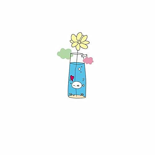 Parche de transferencia térmica,iron on patches,Ropa personalizada diy, jarrón pequeño de dibujos animados para niños lindos