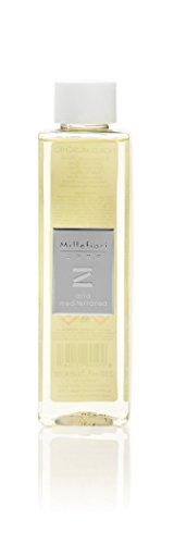 Millefiori 41REMAM Aria Mediterranea Nachfüllflasche 250 ml für Raumduft Diffusor Zona, Plastik, Gelb, 5.3 x 0.4 x 17.2 cm