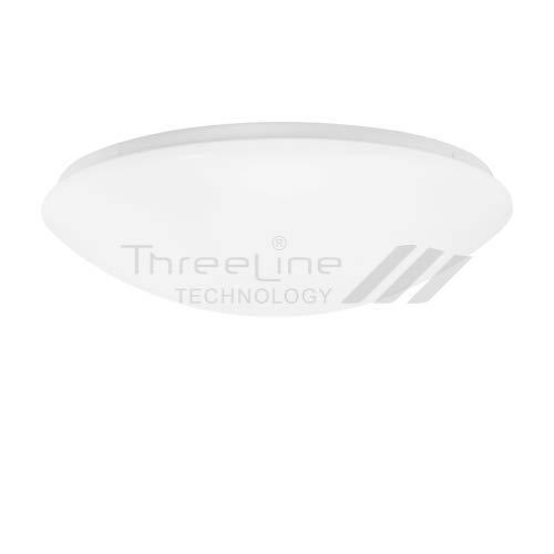 Plafón Redondo LED 32W Blanco neutro Threeline (BLANCO)