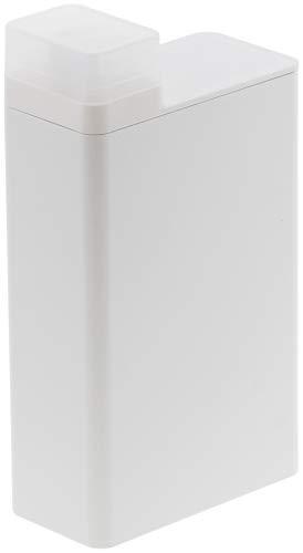 山崎実業(Yamazaki) 詰め替え用ランドリーボトル ホワイト 約W5.5XD11XH20cm タワー 3587