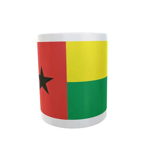 U24 Tasse Kaffeebecher Mug Cup Flagge Guinea-Bissau