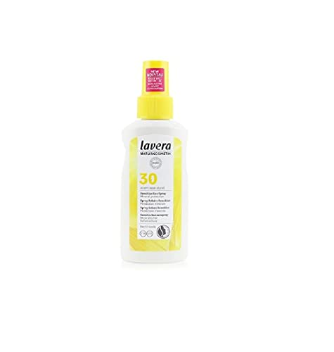 lavera Filtro Solar Corporal SPF30 ∙ Vegano ∙ Organic sunflower oil and organic avocado oil ∙ Vegano Biológico Cosméticos naturales 100% certificados 100 ml