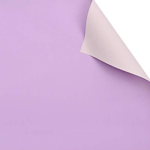 60cm * 10m / Roll Snoep Kleur Bloem Inpakpapier Rose Bruiloft Kerstdecoratie Papieren Boeket Verpakkingsmateriaal, F