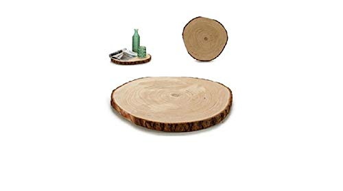 GIFTDECOR Base DE Tronco, Madera, 34-39CM