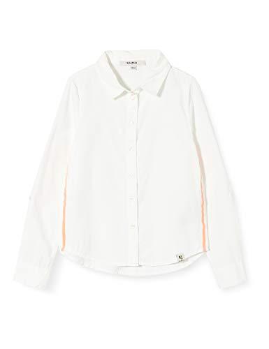 Garcia Kids Mädchen M02431 Bluse, Weiß (Off White 53), 140 (Herstellergröße: 140/146)