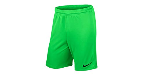 Nike Pantaloncini da uomo League Knit, 725881-398, Verde (Green Strike/Black/398), L