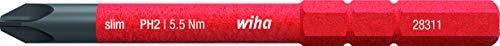 Wiha Werkzeuge electric slim - Punta de destornillador de estrella (2831-11 PH 2x75)