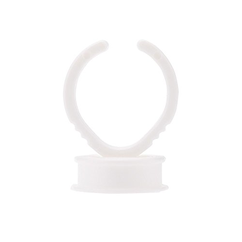 EasyBuying Wimpern-Paletten-Klebehalterung, selbstklebend, 100 Stück