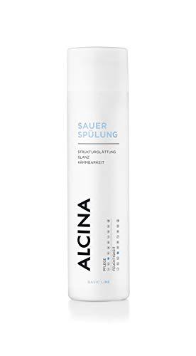 ALCINA Sauer-Spülung - 1 x 250 ml - Glättet und stärkt die Haarstruktur, verleiht Glanz & bessere Kämmbarkeit